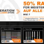 #NEXTGENERATION – 50% RABATT für MEISTERSCHÜLER auf alle Fräser